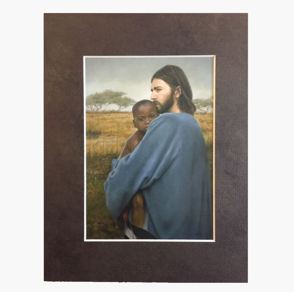 Worth Of A Soul Print 5×7 with Matted 8X10 Frame – Mothers Without ...