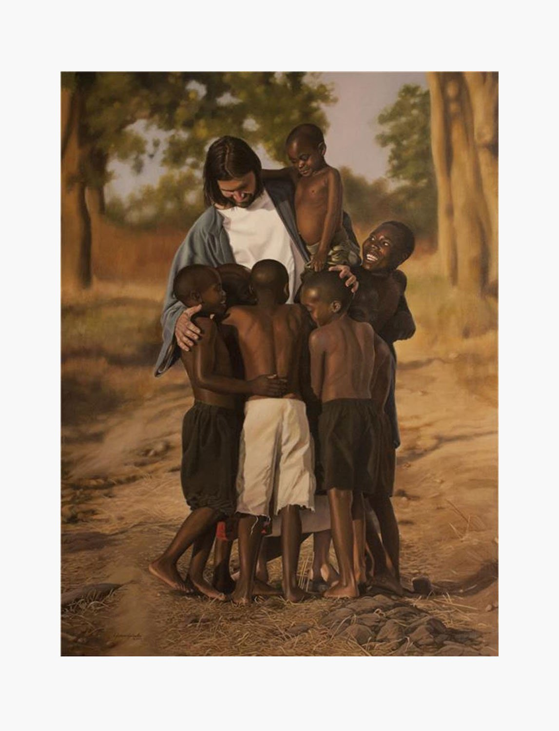 1bc8fd4d6f9 For All Mankind Limited Edition Giclée On Canvas 12 X 16 – Mothers Without  Borders