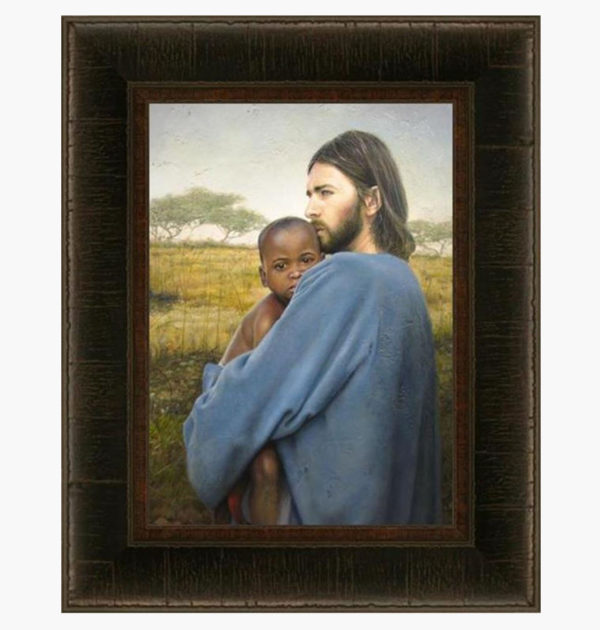 Worth Of A Soul Print 10.5 x 14.5 Frame B – Mothers Without Borders